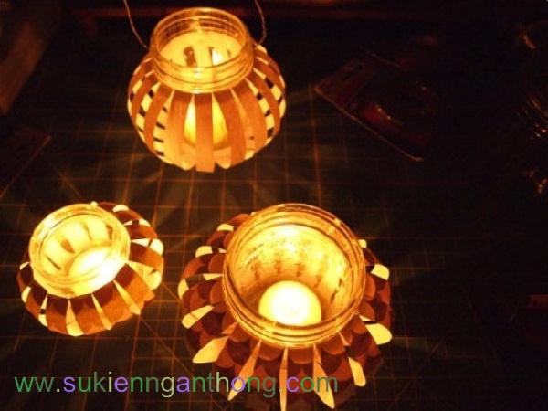Lồng đèn thủy tinh cho trung thu